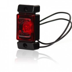 Red sidemarker LED (clear)